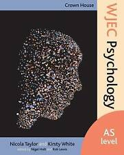 Crown House WJEC Psychology: AS Level by Nicola Taylor (Paperback, 2015)