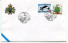 2002-02-16 San Marino Genova 75° traversata atlantica ANNULLO SPECIALE Cover