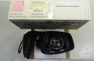 GENUINE SKODA RAPID 2013- LH DOOR MIRROR HOUSING - BLACK 5JC857507C9B9