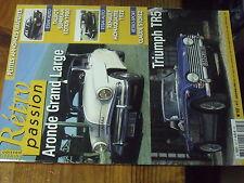 7µ?§ Revue Retro Hebdo n°187 Aronde Grand Large STOREZ Triumph TR5 Monaquatre 32