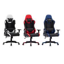 Gaming Chair Gaming Stuhl Bürostuhl Spielstuhl  Chefsessel Racing Computerspiel
