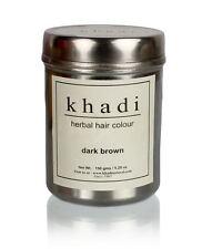 Khadi Natural Herbal Dark Brown Henna Hair Color Unique Formulation 150gm