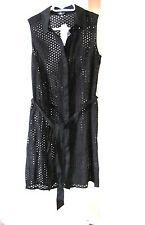 NEW Spense Petite Sleeveless Women's Dress Knee-Length Black 10P