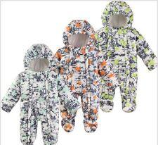 Snow Proof Infant Baby Snowsuit Winter Ski Snow Suit Unisex Boys/Girls