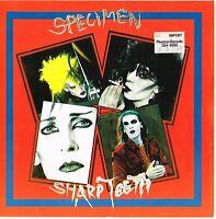 """SPECIMEN sharp teeth / hex U.K. THE TRUST 7"""" 45rpm_1985 NEAR MINT pic/sleeve"""