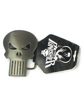 The Punisher Solid Gun Metal Men's Belt Buckle Skull Marvel Comics