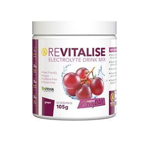 ReVitalise Electrolyte Drink 30 Servings - Grape