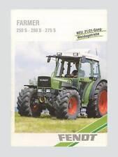 Fendt Farmer 240 S 250 S 260 S 275 S Schlepper Original 1996