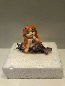 Mermaid  Edible Cake Topper Made By Gum Paste Fondant,