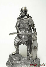 Tin toy soldier, figure, collection miniature The Knights. Viking 90 mm