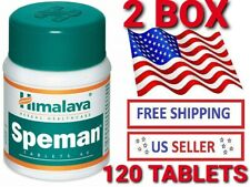 2 pcs 120 Tablets Himalaya Herbals Speman Enhance Sexual Wellness Exp2023
