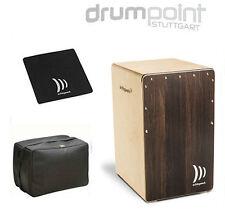 Schlagwerk Cajon 2inOne CP-408ST Soft Touch Dark Oak  & Bag & Sitzpad  *SPECIAL*