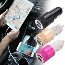 2In1 Dual Car Cigarette Lighter USB 12V In Car Socket fast Charger Adapter