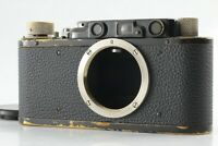 【RARE! EXC+++++】 Leitz Leica DII body camera black From Japan