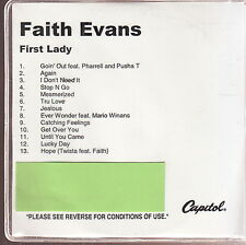 faith evans first lady cd new limited edition