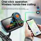 Wireless Car Bluetooth 5.0 FM Transmitter Radio Adapter MP3 Player USB Charger