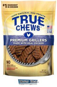 True Chews Dog Treats Premium Grillers Chicken Jerky 12oz Made in USA