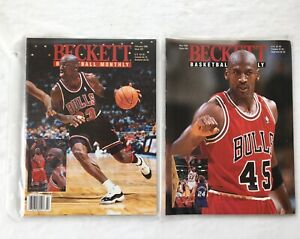 Michael Jordan Beckett Basketball Monthly Magazine Price Guide Bulls 1995 1996