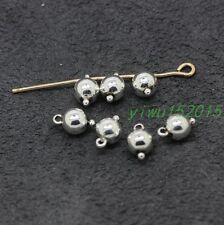 Tibetan silver fine finding Fashion charm bead Connector 30-1000pcs 0.6g 8x5mm