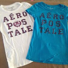 d548a239203 Junior s 2-piece lot Aeropostale shirts size Small t-shirts short sleeves