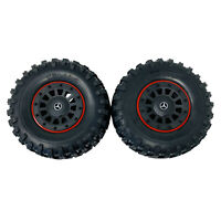 2 x Traxxas TRX6 Mercedes-Benz G 63 Tires & Wheels 8874 Assembled 2.2in Black