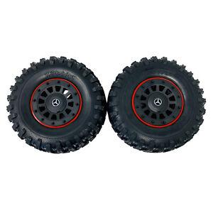 2 x Traxxas TRX6 Mercedes-Benz G 63 Tires & Wheels 8874 Assembled 2.2in Black