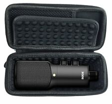 CASEMATIX NT-USB Case for USB Condenser Microphone - Padded Storage to Carry NT