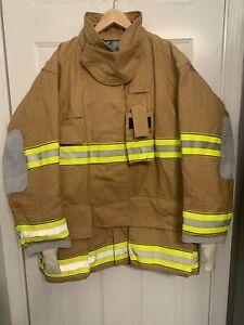 2007 GLOBE Firefighter Suits GXTREME jacket Coat Fire Turnout Gear 50 X 35