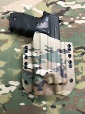 Multicam Kydex Holster SIG P226R Threaded Barrel Surefire X300 Ultra A Model