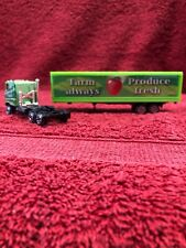 1 64 Scale Semi Cabover Truck Trailer Farm Produce Always Fresh Diecast