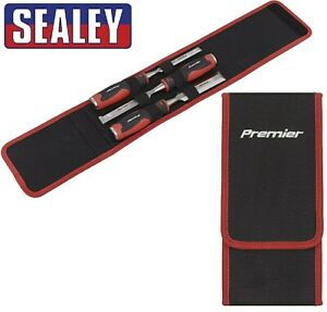 Sealey Premier Hammer Thru Wood Chisel 3pc Set - 12, 19 & 25mm
