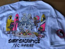 80's T&C Surf Designs T-shirt Men's   X Large  White