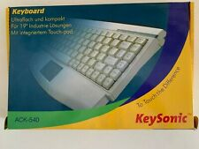 Keysonic ACK-540 US  Mini keyboard / Touchpad PS/2