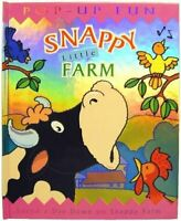 Snappy Little Farm (Snappy Pop-ups) by Harwood, Beth Hardback Book The Fast Free