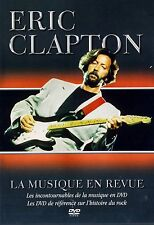 USED  DVD // ERIC CLAPTON //  LA MUSIQUE REVUE // COVER FRENCH// DISC ENGLI