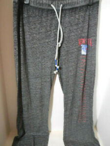 New New York Rangers NHL Women's Ladies Grey Soft Thin Loose Fit Size Small Pant