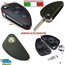 Guscio Chiave Cover Key Telecomando a 3 Tasti Auto  Alfa Romeo 147 156 166 JTD M