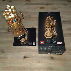 Lego Infinity Saga Infinity Gauntlet Thanos Handschuh Marvel