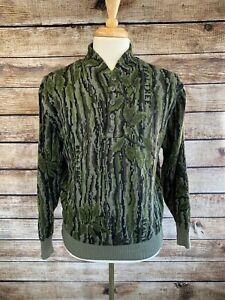 Vintage Cabela's Wool WindStopper Camo Sweater Vintage Realtree M