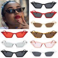 Vintage Sunglasses Women Cat Eye Luxury Brand Designer Sun Glasses Retro Small