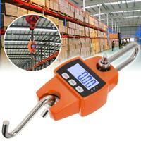 300KG/660LBS Mini Crane Scale Industrial Hook Hanging Weight Digital LCD Display