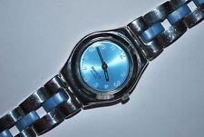 2006 Swatch Watch Irony Lady YSS-203G BLUE SILKY Swiss Quartz Stainless Steel