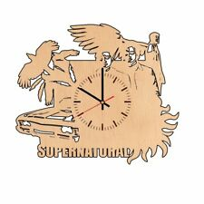 Supernatural Wood Gift Wall Clock Fan Room House Office
