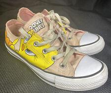 Converse Chuck Taylor All Star Looney Tunes Tweety Bird, Women 6 Men's 4