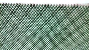 "Aquarium Plant Mesh 8"" x 4"" {2 Pieces) + Thread, Green Plastic, Scape,  Moss"