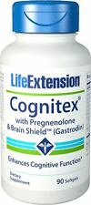 Life Extension-Cognitex Plus Pregnenolone with Brain Shield Softgels, 90 Count