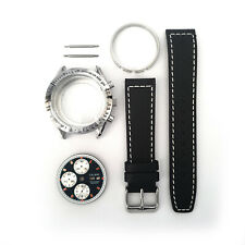 Cronografo Eta Valjoux 7750 Case Uhrenkit/Uhrenset/Kit Cassa Orologi
