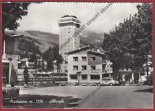 SONDRIO MADESIMO 86 HOTEL SOLDANELLA - RISTORANTE LA CONCHIGLIA viaggiata 1962