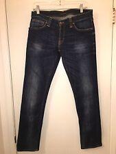 Ladies Nudie Tight Long John Skinny Jeans Size 31 x 30