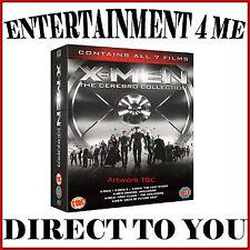 X-MEN- THE CEREBRO COLLECTION - ALL 7 FILMS **BRAND NEW DVD BOXSET**